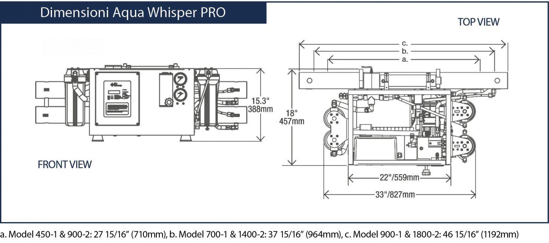 Aqua Whisper PRO